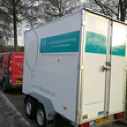 We now have our own trailer!