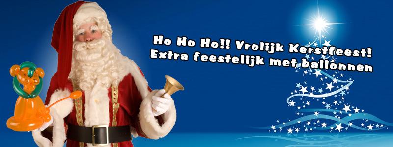 Santa Clause as Balloonartiest