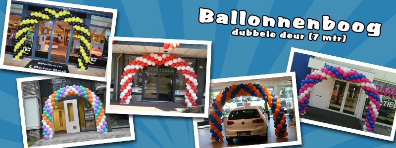 Ballonnenboog 7 meter (dubbele deur)