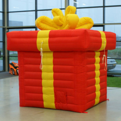 NEW: balloon release with a giant box