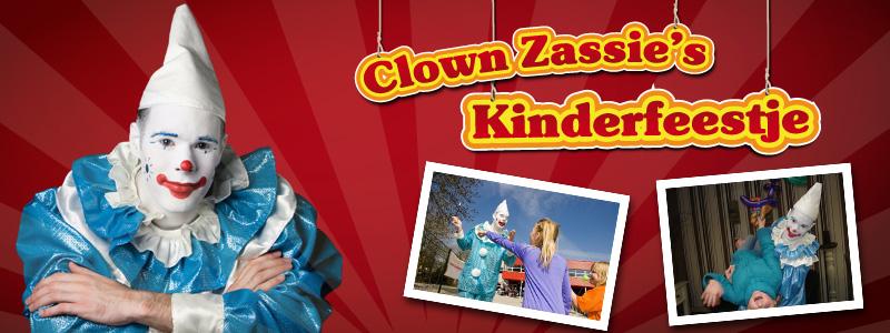 Clown Zassie's Kinderfeest - 2 uur