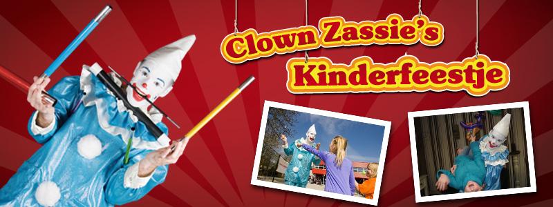 Clown Zassie birthdayparty - 1 hour
