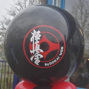 Logo op ballonnen