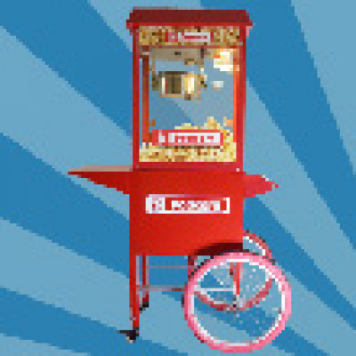 Nieuw: Popcornmachine