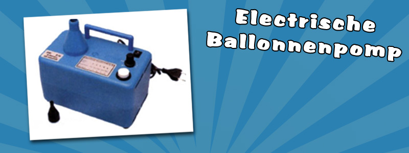 Electric balloon inflator with timer